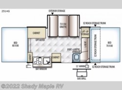 New 2017  Forest River Rockwood Premier 2514G by Forest River from Shady Maple RV in East Earl, PA