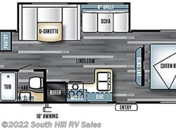 New 2017  Forest River Salem Cruise Lite 282QBXL by Forest River from South Hill RV Sales in Puyallup, WA