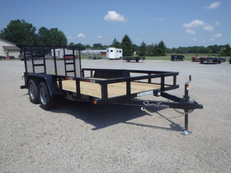 2021 Quality Trailers by Quality Trailers, Inc. B Tandem 14'