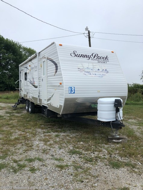 2013 SunnyBrook Sunset Creek 267RL