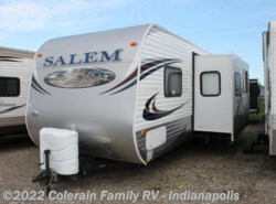 Used 2013  Forest River Salem 26TBUD by Forest River from Colerain RV of Indy in Indianapolis, IN