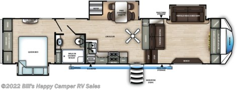 2021 Forest River Sandpiper 3550FL