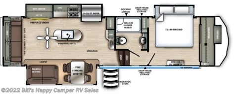 2020 Forest River Sandpiper 321RL