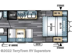 New 2017  Forest River Salem Cruise Lite 171RBXL by Forest River from TerryTown RV Superstore in Grand Rapids, MI