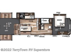 New 2017  Forest River Salem Villa Estate 395RET by Forest River from TerryTown RV Superstore in Grand Rapids, MI