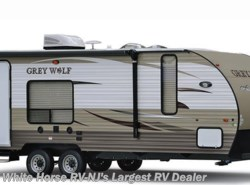 Used 2016  Forest River Grey Wolf 27RR Slide-out with Enclosed 8x11' Garage by Forest River from White Horse RV Center in Egg Harbor City, NJ