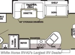 Used 2014  Forest River Cherokee 284BH 2-BdRM Slide-out w/Bunkhouse by Forest River from White Horse RV Center in Egg Harbor City, NJ