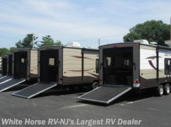 New 2017  Forest River Grey Wolf 22RR Front Walk-Around Queen 90x75 Rear Ramp Door by Forest River from White Horse RV Center in Egg Harbor City, NJ