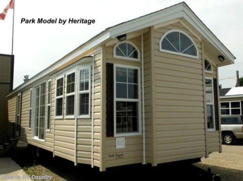 2018 Heritage Park Models Park Royale  2  bed Room Frt Living Room