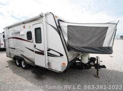 Used 2013  Jayco Jay Feather X18D by Jayco from Thompson Family RV LLC in Davenport, IA