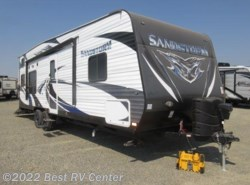 New 2017  Forest River Sandstorm 270SLR 200W Solar Power/ Slide Out/ SOLID SURACE K by Forest River from Best RV Center in Turlock, CA