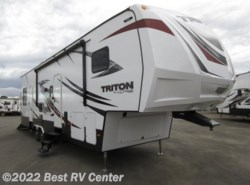 New 2017  Dutchmen Voltage TRITON 3451 /12Ft 7in Garage/Dual A/C/ Onan 5.5 Ge by Dutchmen from Best RV Center in Turlock, CA