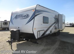 New 2018  Eclipse Attitude 27SA Gray/ Slide Out/ 160W Solar/  4.0 ONAN by Eclipse from Best RV Center in Turlock, CA