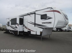 New 2017  Dutchmen Voltage Triton 3551 CALL FOR THE LOWEST PRICE! /Onan 5.5 Generato by Dutchmen from Best RV Center in Turlock, CA