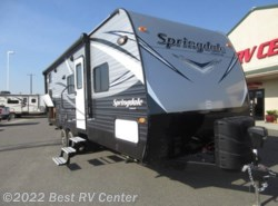 New 2017  Keystone Springdale 240BH Limited Edition  Rear Twin Bunks/ Outdoor Ki by Keystone from Best RV Center in Turlock, CA