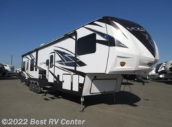 New 2018 Dutchmen Voltage 3815  18 Ft Garage/3 AC/ 6 Pt. Hydraulic Auto Leve available in Turlock, California