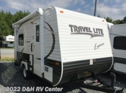 New 2017  Travel Lite Express i16 Ultra Light Toy Hauler by Travel Lite from D&H RV Center in Apex, NC