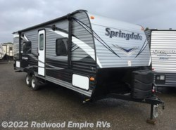 New 2017  Keystone Springdale 245RBWE by Keystone from Redwood Empire RVs in Ukiah, CA