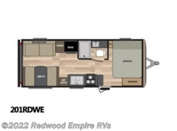 New 2017  Keystone Springdale 201RDWE by Keystone from Redwood Empire RVs in Ukiah, CA