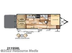 New 2017  Forest River Wildwood X-Lite 211SSXL by Forest River from U-Neek RV Center in Kelso, WA