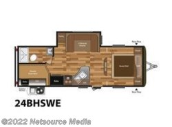 New 2017  Keystone Hideout 24BHSWE by Keystone from U-Neek RV Center in Kelso, WA