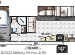 New 2018  Forest River Rockwood Signature Ultra Lite 8335BSS by Forest River from Midway Homes & RV in Grand Rapids, MN
