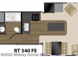 New 2018  Heartland RV Resort 340FE by Heartland RV from Midway Homes & RV in Grand Rapids, MN