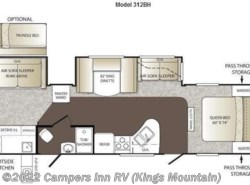 Used 2012  Keystone Outback 312BH by Keystone from Campers Inn RV in Kings Mountain, NC