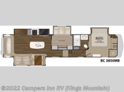 New 2017  Heartland RV Big Country 3850 MB by Heartland RV from Campers Inn RV in Kings Mountain, NC