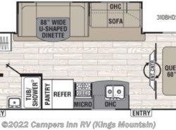 New 2017  Coachmen Freedom Express Liberty Edition 310BHDS by Coachmen from Campers Inn RV in Kings Mountain, NC