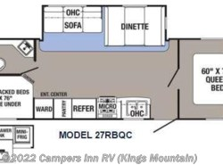 New 2017  Palomino Puma XLE 27RBQC by Palomino from Campers Inn RV in Kings Mountain, NC