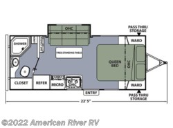 New 2016  Coachmen Apex 22QBS by Coachmen from American River RV in Davis, CA