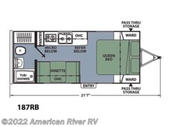 New 2016  Coachmen Apex 187RB by Coachmen from American River RV in Davis, CA