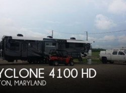 Used 2015  Heartland RV Cyclone 4100 HD