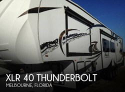 Used 2014 Forest River XLR 40 Thunderbolt available in Melbourne, Florida