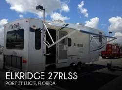 Used 2014  Heartland RV ElkRidge 27RLSS
