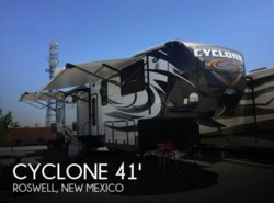 Used 2015  Heartland RV Cyclone 4100 King Toy Hauler