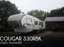 Used 2013  Keystone Cougar 330RBK by Keystone from POP RVs in Sarasota, FL