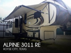 Used 2015  Keystone Alpine 3011 RE