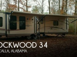 Used 2015  Forest River Rockwood 34 by Forest River from POP RVs in Sarasota, FL