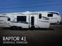 Used 2011  Keystone Raptor 41 by Keystone from POP RVs in Sarasota, FL