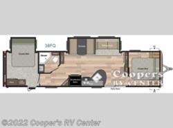 New 2017  Keystone Springdale 38FQ by Keystone from Cooper's RV Center in Apollo, PA