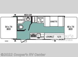 New 2017  Viking  Ultra-Lite 16RBD by Viking from Cooper's RV Center in Apollo, PA