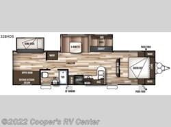 New 2017  Forest River Wildwood 32BHDS by Forest River from Cooper's RV Center in Apollo, PA
