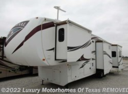 Used 2012  Forest River Cardinal 38ft 4 Slide Rear Entertainment by Forest River from Luxury Motorhomes Of Texas in Krum, TX