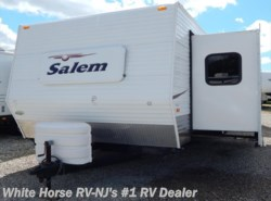 Used 2007  Forest River Salem 362FKDS Rear King Double Slide by Forest River from White Horse RV Center in Williamstown, NJ