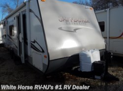 Used 2014  Jayco Jay Feather Ultra Lite 228 Front Qeen, Triple Bunk by Jayco from White Horse RV Center in Williamstown, NJ