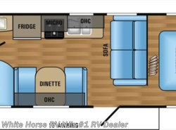 New 2017  Jayco Jay Flight SLX 264BHW Two Bedroom Sofa & Dinette by Jayco from White Horse RV Center in Williamstown, NJ