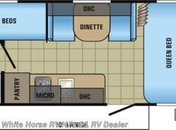 New 2017  Jayco Jay Flight 174BH SLX Front Queen Bed Corner Bunks & Bath by Jayco from White Horse RV Center in Williamstown, NJ