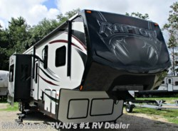 Used 2015 Keystone Raptor 395LEV Triple Slide King Bed Rear 12' Garage available in Williamstown, New Jersey